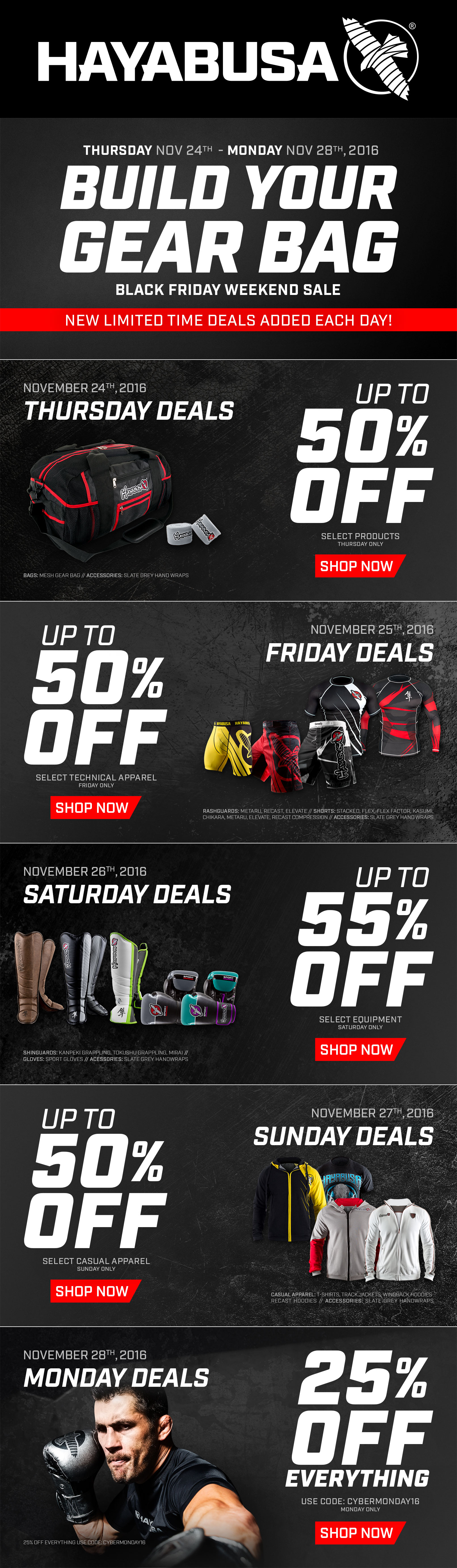 Black Friday - Newsletter