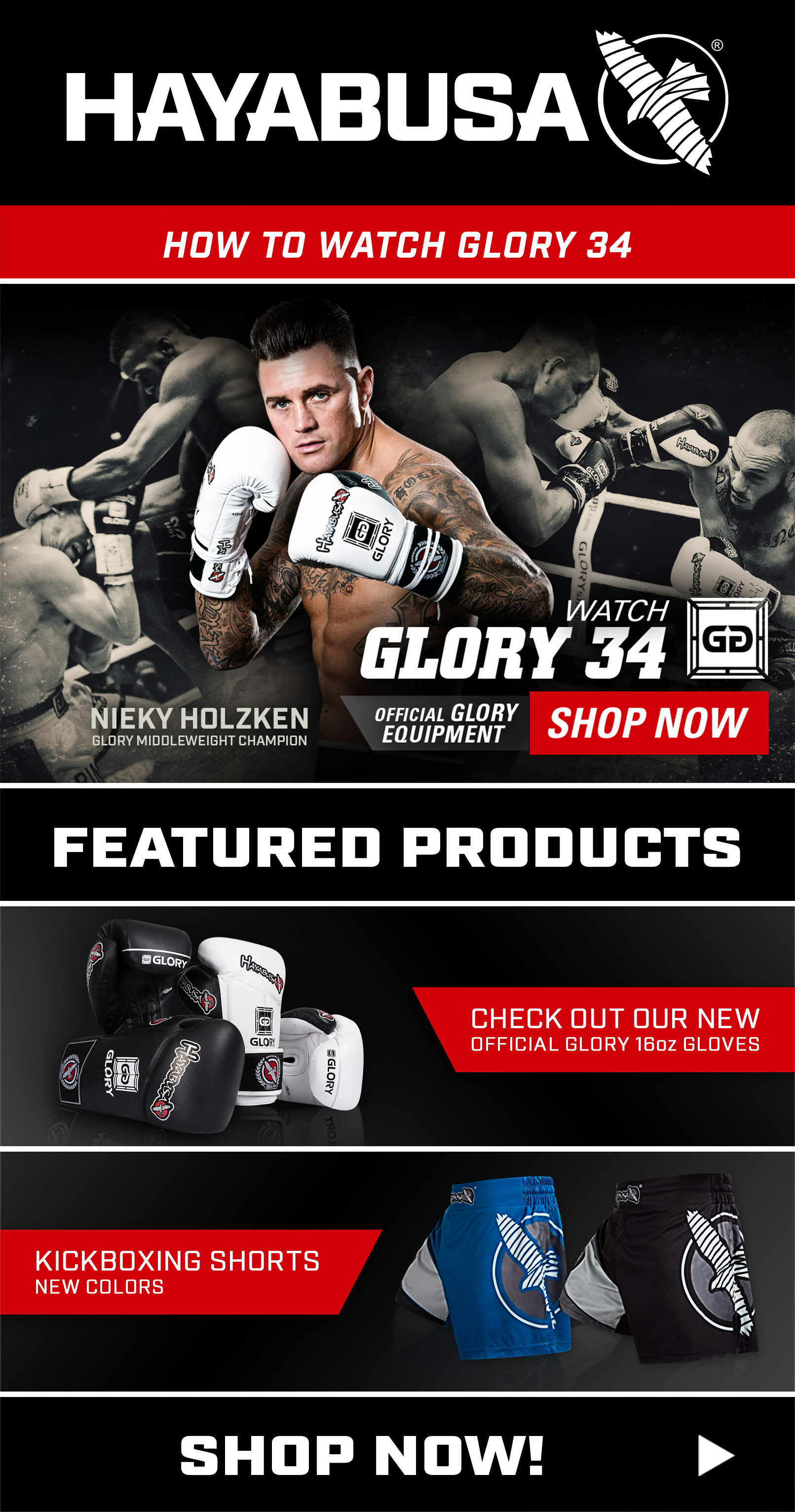 Glory 34 - Consumer Newsletter
