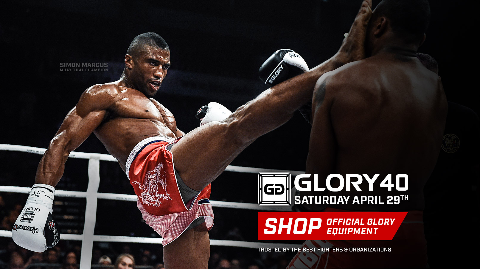 Glory40 - Fight Week - new website