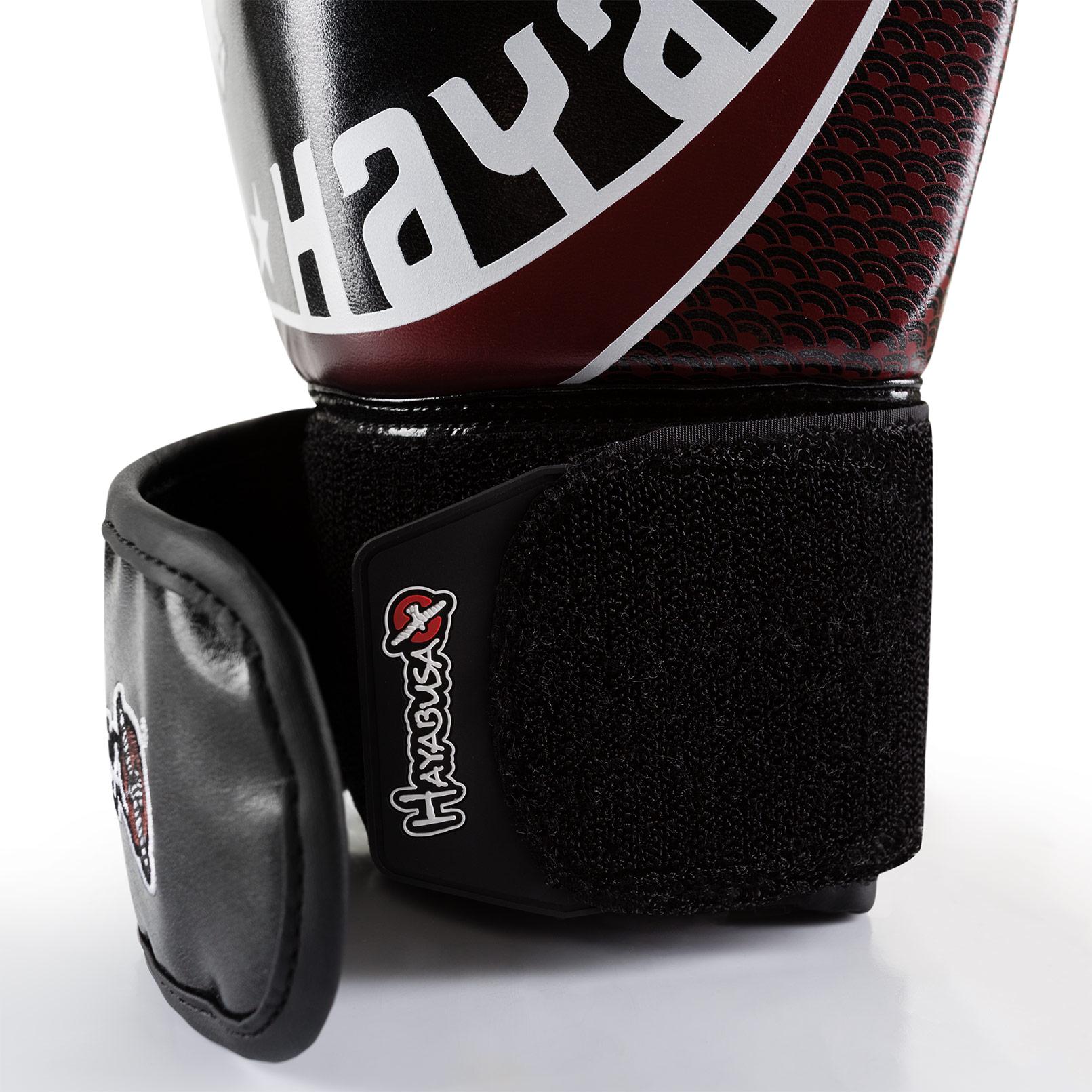 Muay Thai Gloves - Dual-X-Closure - black