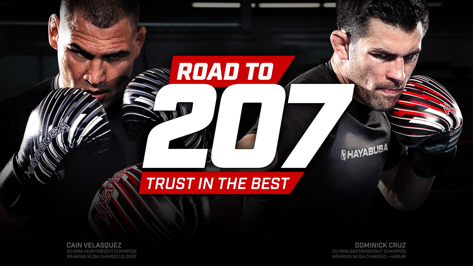 Road207 - Cain Velasquez and Dominick Cruz