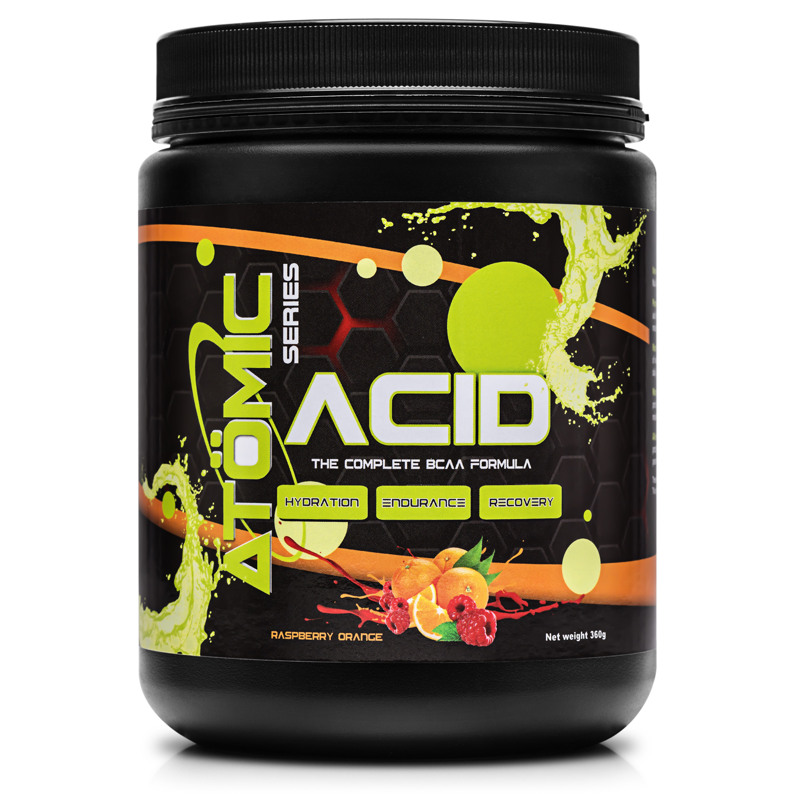 Atomic Series BCAA - Raspberry Orange