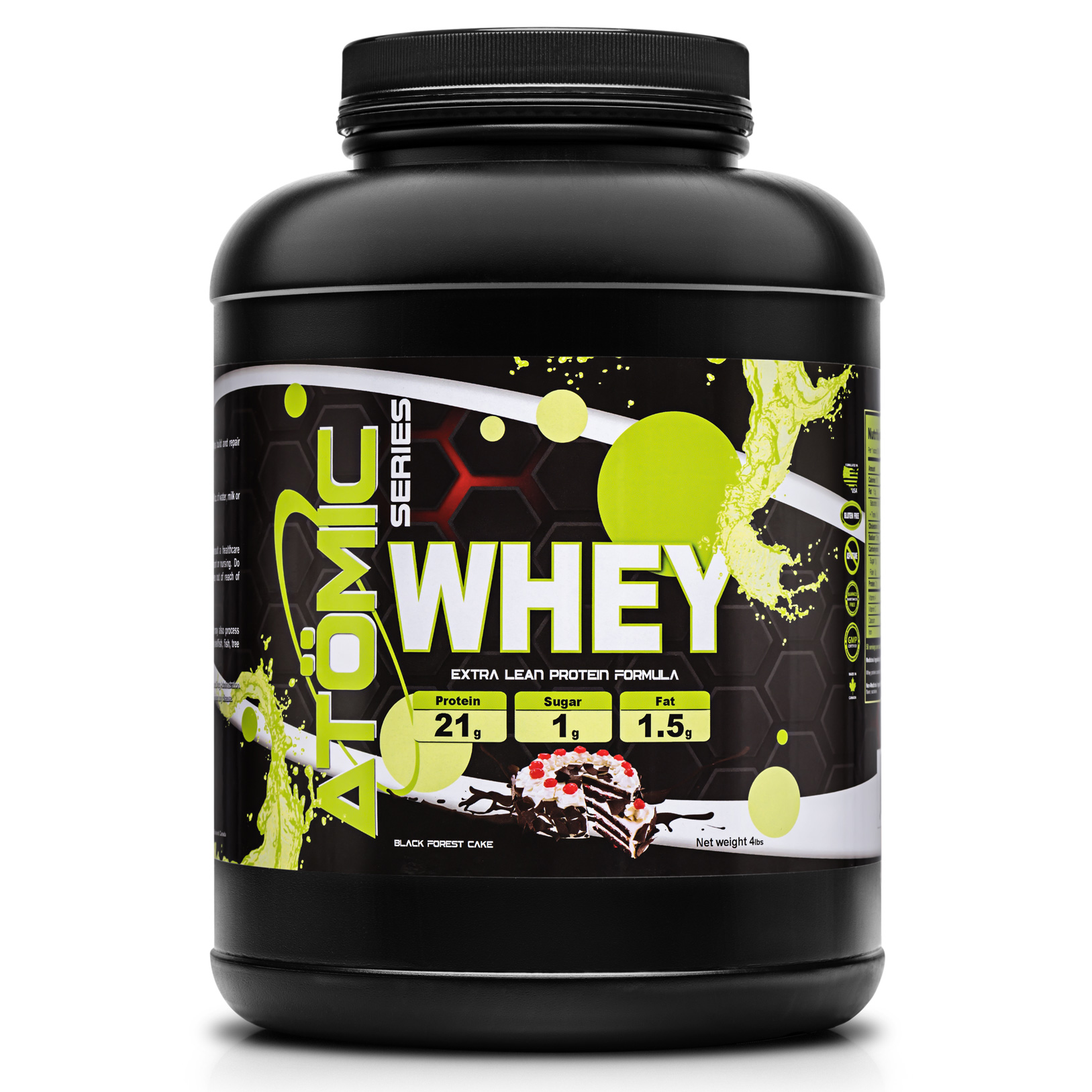Atomic Series WHEY - Black Forest Cake