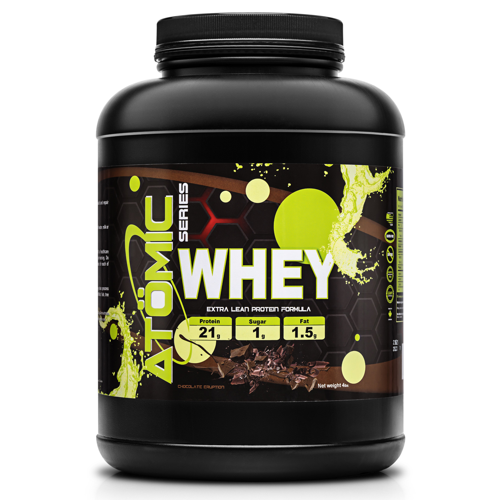 Atomic Series WHEY - Chocolate Eruption